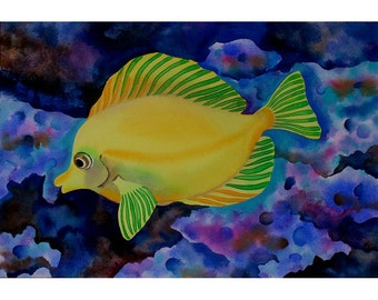Tropical Fish Limited Edition Print