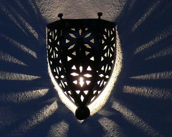 Oriental wall lamp Arabic lamp Decoration Iron Morocco