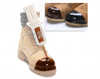 TUFF TOE Polyurethane Toe Protector - All Colors - Save Your Expensive Boot/Shoe Toes! Made in USA!