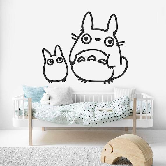 Totoro Nursery Decal