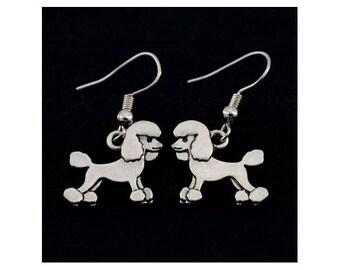 Poodle Charm Earrings