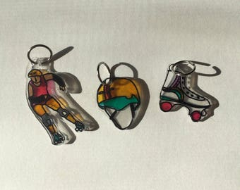 Roller Derby Charms