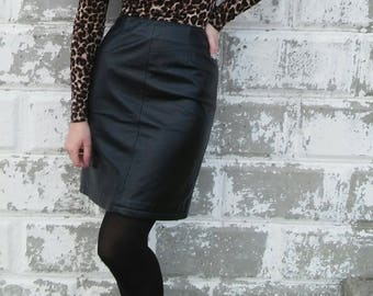 Wilson's Leather High Waist Skirt
