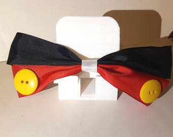 Mickey Mouse Inspired Hair Bow (FREE SHIPPING!)