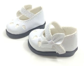 Dollfie Yo-SD Mary Jane 1/6 BJD Doll Shoes for Fabric Dolls,Mini Textile Doll Shoes 1/6 BJD Footwear for Dolls,5CM Doll Boots for Dolls