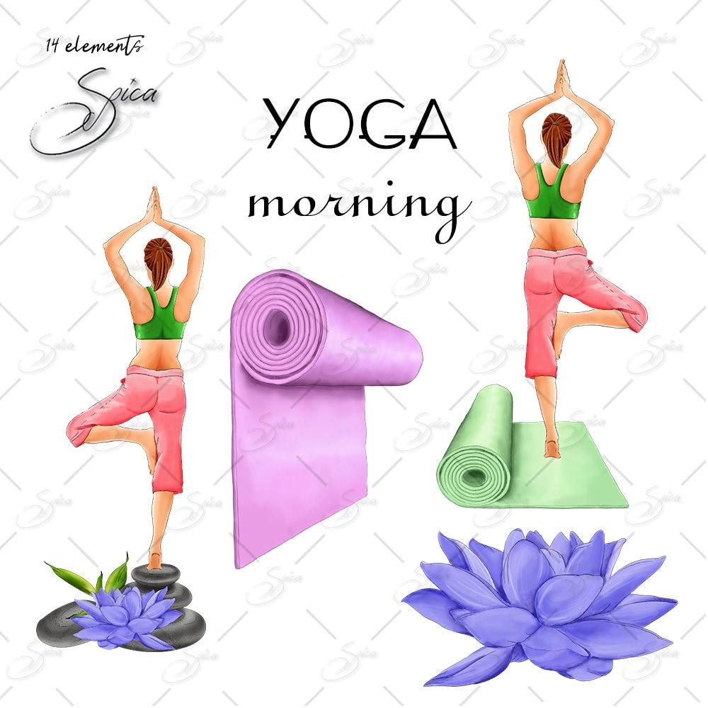 workout clip art yoga clipart lotus clip art yoga mat clipart relax rh etsystudio com physical fitness clipart