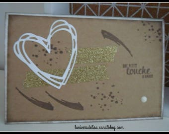 """Card """"a touch of love"""""""