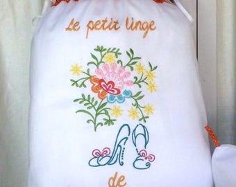 """Fine """"shoes"""" lingerie bag"""