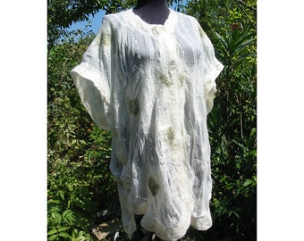 Felt Dress,Felt Tunic,Merino Wool Dress,European Design,White Dress,Merino Wool Felt Dress,Art Deco ,Woman Gift ,Handmade