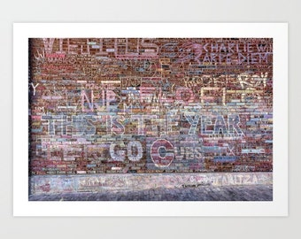 Chicago Cubs World Series Champions Wall Art @ Wrigley Field 'This is the year' by Noriko Aizawa Buckles | art print | tote