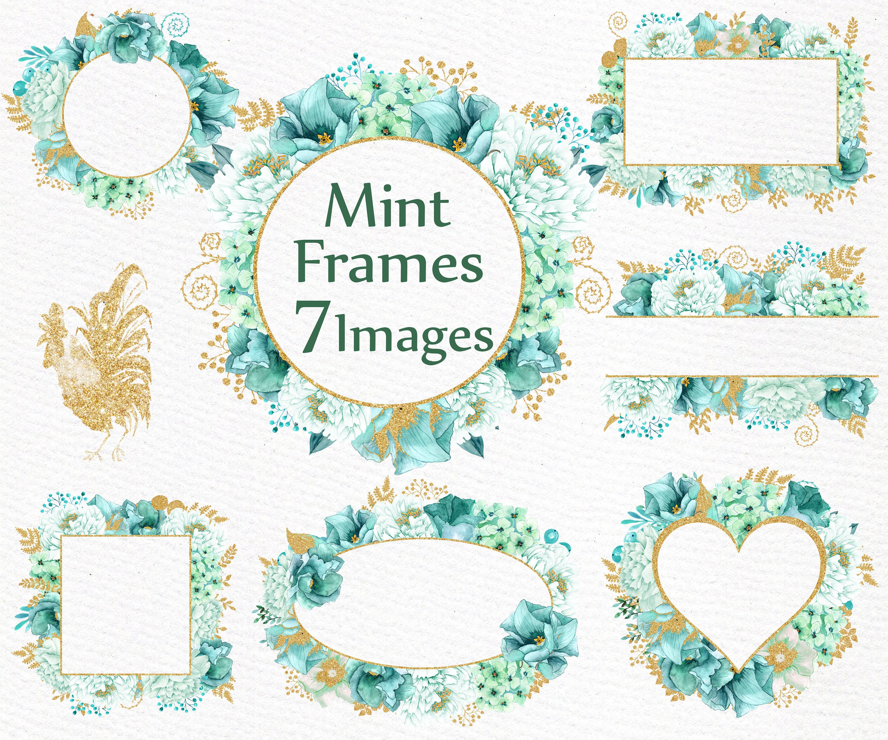 zoom - Mint Picture Frames