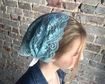 Delicate Lace Head Covering