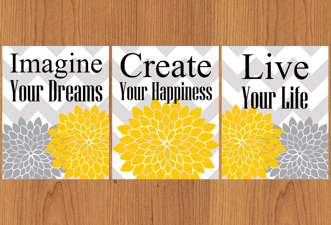 Imagine Your Dreams Create Your Happiness Live Your Life