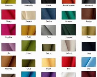 SWATCH: 10 oz Canvas Fabric Sample