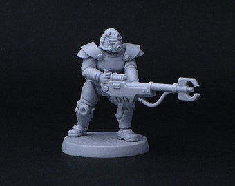 Retro power-armour miniature Brother Vinni Nuclear Fallout Brotherhood of steel