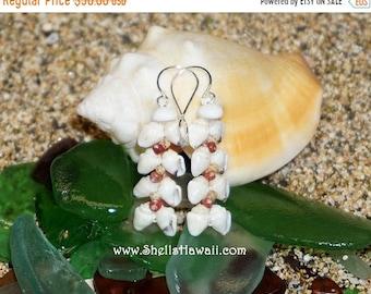 Momi & Kahelelani shell earrings from Niihau #241