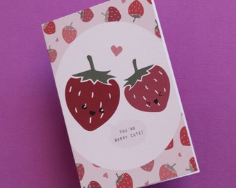 You're Berry Cute Greeting Card