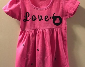 Love Bug Dress 2T