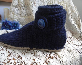 Boots slippers 100% wool, color and size