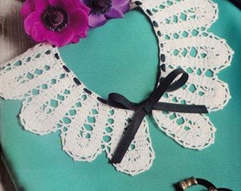 Collar crochet pattern PDF digital download