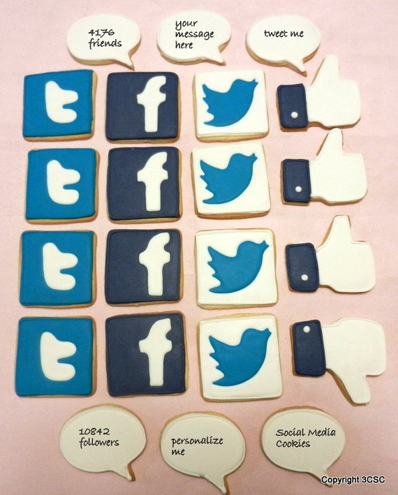 how to add social media links to facebook page