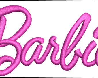 Barbie, embroidery machine,embroidery design, file,ponchado
