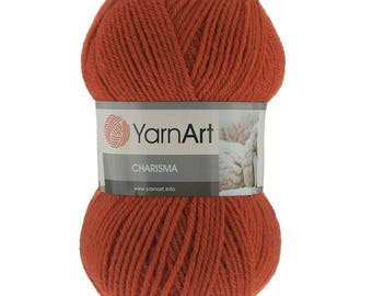 Wool yarn CHARISMA YARNART, winter yarn, a lot of yarn, yarn palette, warm yarn