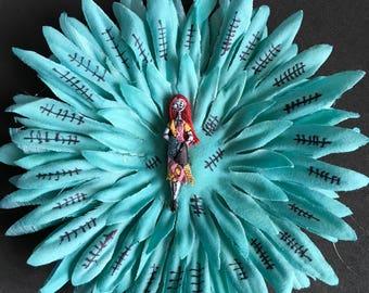 Sally hair flower clip