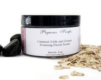 Oatmeal Milk and Honey Body Scrub 4 oz Body Scrub~Exfoliating~Skin Care, Body Care