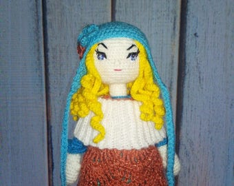 Crochet, Sue doll