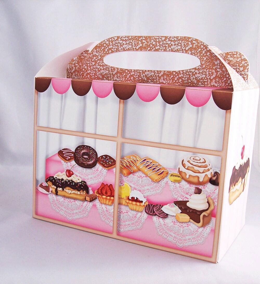 Digital Gable Sweets Box