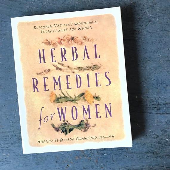 Herbal Remedies for Women book - Amanda McQuade Crawford - holistic naturopathy plant medicine