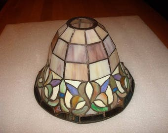 Stained glass lamp shade etsy aloadofball Gallery