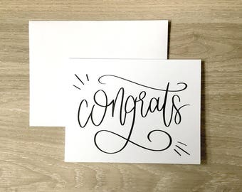 Congratulations Card | Greeting Card | Engagement Card | | Wedding Congratulations Card | A2 Card | Graduation Card | Celebration Card