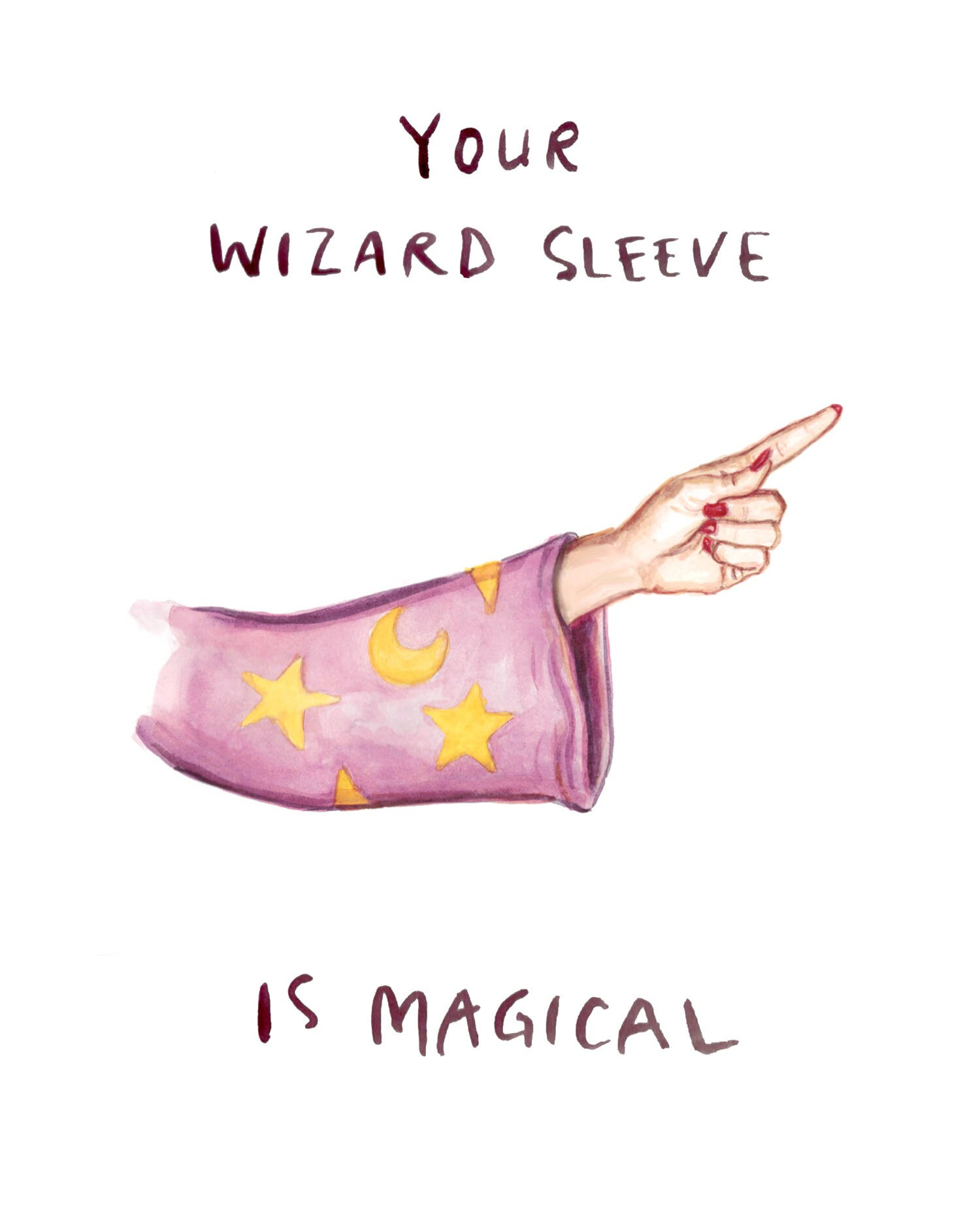 Wizard sleeve funny nsfw valentine birthday card your zoom kristyandbryce Choice Image