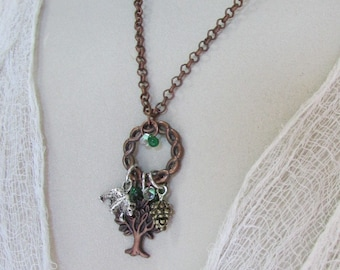 In The Woods Nature Lover Necklace