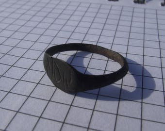 Old bronze ring original