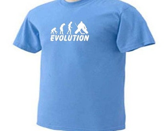 EVOLUTION ICE HOCKEY Goalie Ice Sport T-Shirt