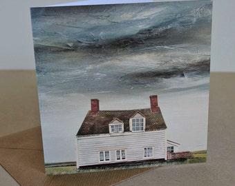 Tudor Cottage - Fine Art card