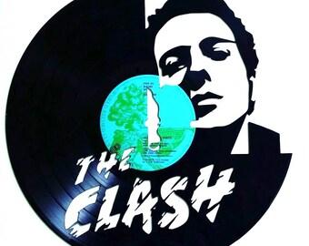 The Clash - Vinyl Record Art