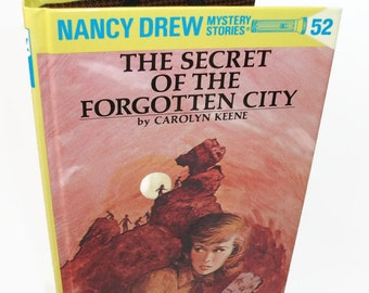 Tablet Cover for Nook Kobo Case Nancy Drew Secret of Forgotten City Book Kindle Cover