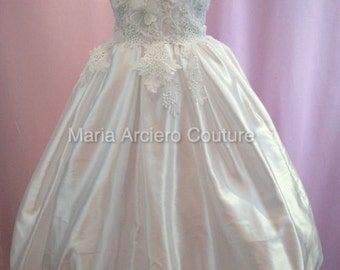 First Communion Dress, Flowergirl dress SAMPLE ONLY