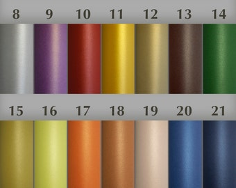 5 of paper color samples, and design sample - 1 from shop