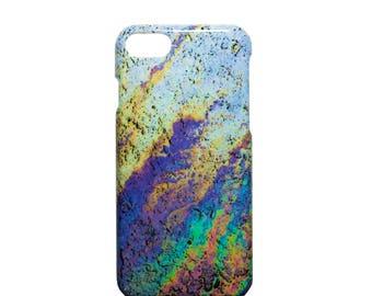 Shimmer iPhone Case - iPhone 7, iPhone 8, Colourful, Vivid, Technicolour design, Shimmering finish, Unique Phone Case,
