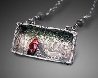 Shadow box jewelry Etsy