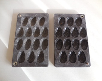 A Vintage Belgian chocolate mould in bakalight