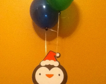 Cute Penguin Balloon Centerpiece