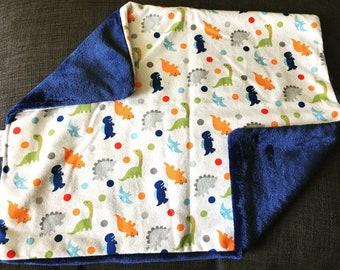 DINOSAUR PRINT Lovey Baby Lap Blanket