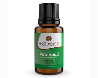 Patchouli Essential Oil | 5 mL | 15 mL | 30 mL | 100% Pure Therapeutic Grade