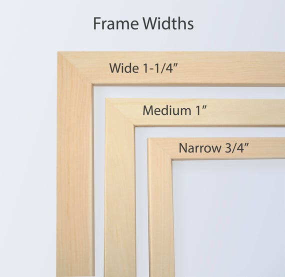 12x12 Picture Frame Natural Wood Frame, Square Frame, Scrapbook ...
